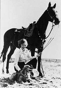 Velma Wild Horse Annie <i>Bronn</i> Johnston