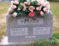Rhoda Jane <i>Russell</i> Frazier