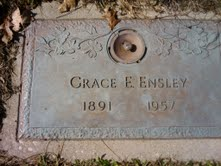 Grace Evelyn Grace <i>Hackenger</i> Ensley
