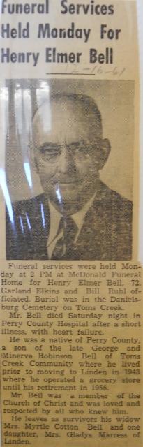 Henry Elmer Bell