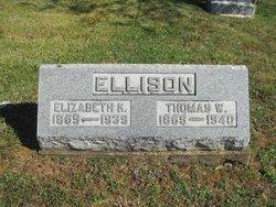 Elizabeth <i>Kirker</i> Ellison
