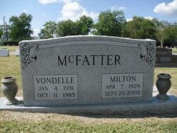 Vondelle <i>Welch</i> McFatter