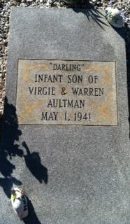 Infant Darling Aultman