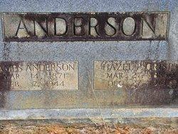 Hazel Parthena <i>Crisp</i> Anderson
