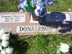 Mary Ann <i>Gilstrap</i> Donaldson