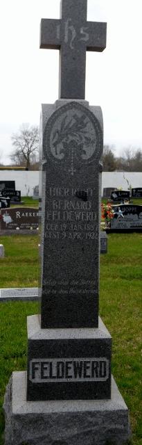 Bernard Feldewerd, Sr