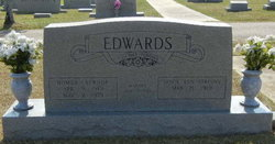 Dovie Ann <i>Atkinson</i> Edwards