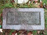 Maxine <i>Duren</i> Counts