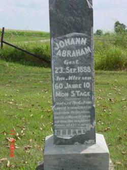 Johann Abraham