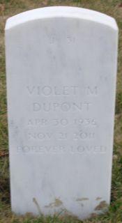 Violet M <i>Rowden</i> DuPont