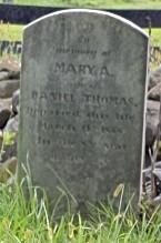 Mary A <i>Moss</i> Thomas