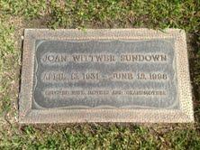 Joan Louise Wittwer Sundown