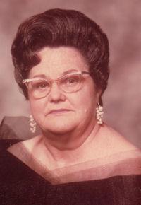 Lenora Elzina Patsy <i>Walker</i> Graham Hornback