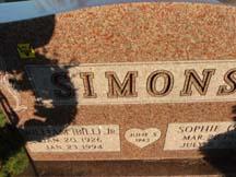 Sophie L. Sue <i>Admonius</i> Simons