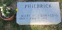 Mary Jean <i>Press</i> Philbrick