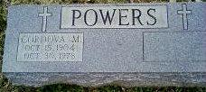 Cordova Marie <i>Medley</i> Powers