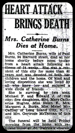 Catherine Kate <i>Bailey</i> Burns