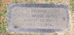 Winifred Maude Maude <i>Sewall</i> DeRocher