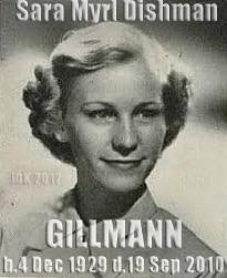 Sara Myrl <i>Dishman</i> Gillmann