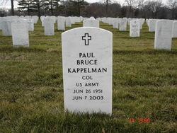 Col Paul Bruce Kappelman