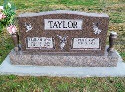 Beulah Ann <i>Benson</i> Taylor