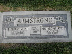 Elaine Content <i>Anderson</i> Armstrong