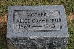 Mary Alice <i>Nevill</i> Crawford