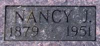 Nancy Jane Nan <i>Wasson</i> Atkinson