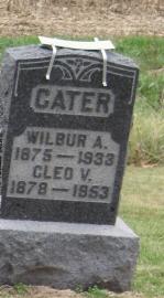 Cleo V. <i>Coulter</i> Cater