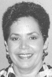 Peggy Ann <i>Moore</i> Cawley