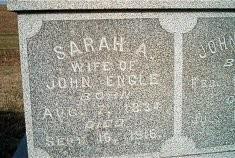 Sarah Annie <i>Sikes</i> Engle