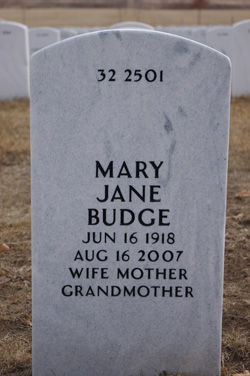 Mary Jane <i>Kelly</i> Budge