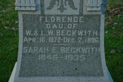 Sarah Elizabeth Sallee <i>Porter</i> Beckwith