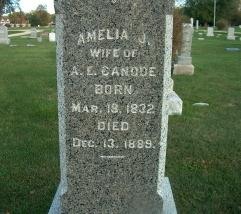 Amelia Jane <i>Worley</i> Canode