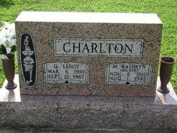 Maia Kathryn <i>Milner</i> Charlton