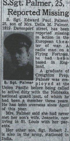 Edward P Palmer
