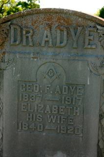 Elizabeth <i>Dugan</i> Adye
