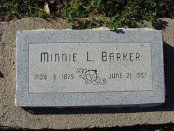 Minnie Lenora <i>Potter</i> Barker