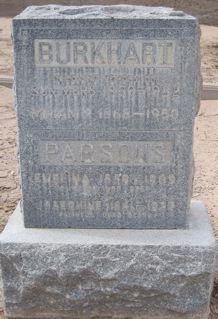 Miriam <i>Parsons</i> Burkhart