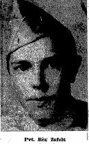 Pvt Rex Francis Zufelt