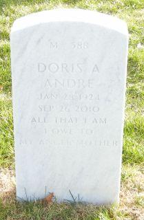 Doris A. <i>Langdon</i> Andre