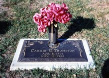 Carrie Christine <i>Haynes</i> Thompson