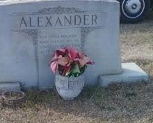 Minnie <i>Barfield</i> Alexander