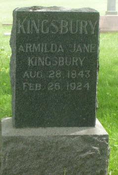 Armilda Jane Kingsbury