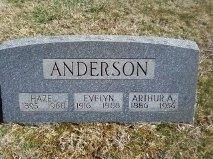 Arthur Allan Anderson, Sr