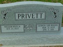 William Riley Junior Privett, Jr