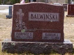 Florence S. <i>Burch</i> Balwinski