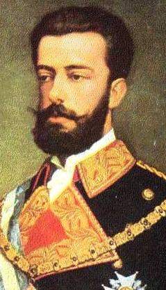 Amadeo I -Amadeo Fernando Savoy-Aosta