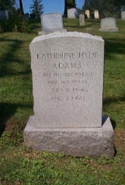 Katherine <i>Hyde</i> Adams