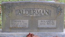 Roland Lane Alderman